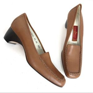 Cole Haan Crafted in Italy Tan Shoes  7.5 AA